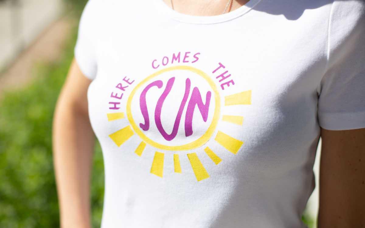 Featured Image for ファブリックインクTシャツ (#1058)
